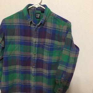 Vintage Boys XL 100% Cotton flannel